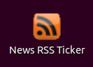 News Rss Ticker - Ubuntu